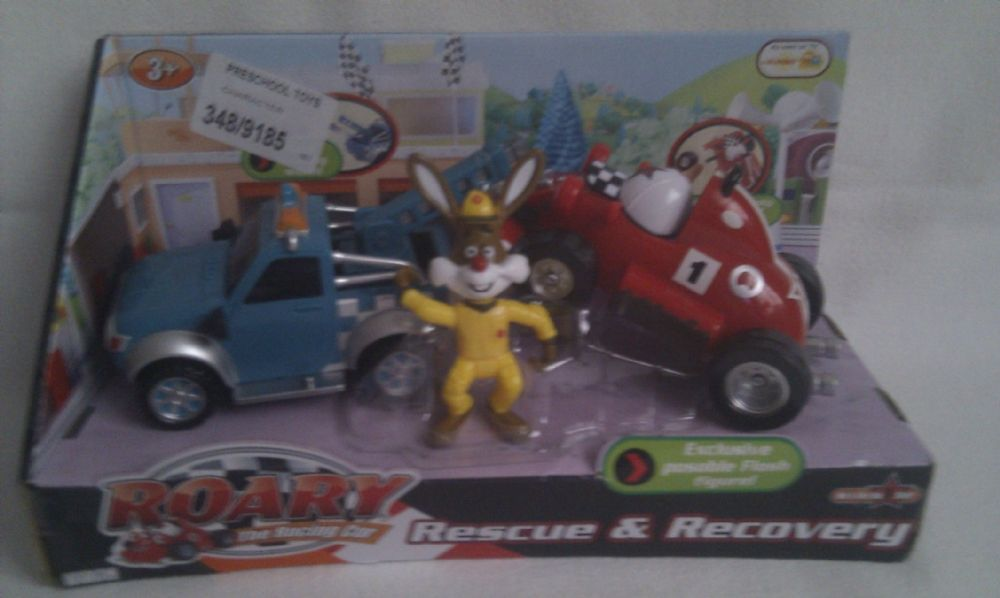 Adorable Roary The Racing Car Rescue Amp Recovery Boxset